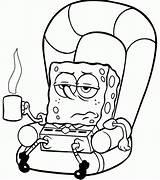 Coloring Spongebob Sick Gary Characters Printable Bob Colouring Sheets Cartoon Blank Cartoons Squarepants Clipart Cool Sponge Animated Adult Printables Popular sketch template