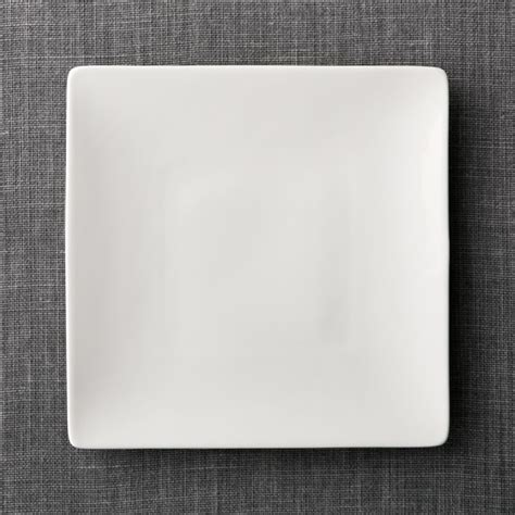 square dinner plate reviews crate and barrel
