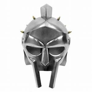 Maximus Decimus Meridius Gladiator Helmet w/ Brass Spikes ...