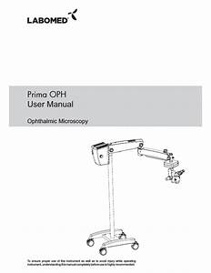 Prima Oph User Manual Pdf Download