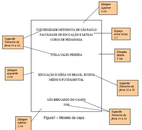 normas da abnt para trabalhos escolares modelos para modelo normas da abnt 2013 trabalhos escolares