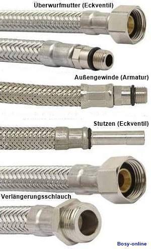 flexible rohrleitungen und anschluesse
