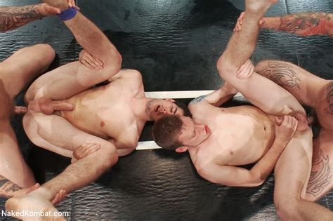 Hot And Sweaty Gay Foursome With Anal And C Xxx Dessert