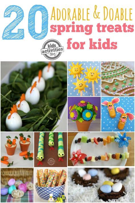 cute easy spring treats  kids