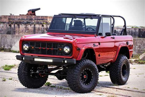 complete restoration   ford bronco