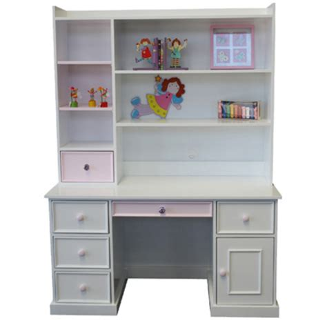 kids white desk with hutch buy princess kids desk hutch online in australia find
