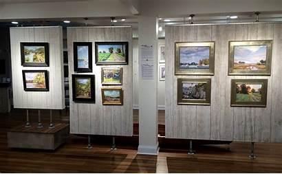 Center Allure Main Display Fine Artists