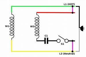 Capacitor Run Motor Wiring Diagram