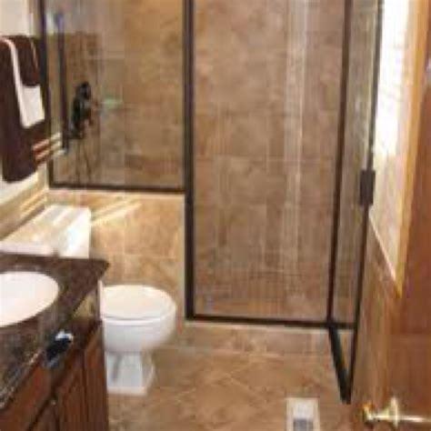 half wall with door trim bathroom shower - Bathrooms Ideas For Small Bathrooms