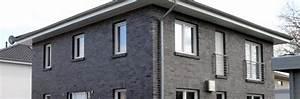 Fertighaus Mit Klinkerfassade : stadtvilla euskirchen d ren mit 2 vollgeschossen einfamilienhaus massivhaus architektenhaus ~ Markanthonyermac.com Haus und Dekorationen