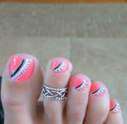 Related with the stunning toe nail art designs for summer season
