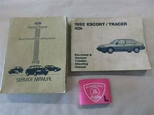 1992 Ford Escort Tracer Service Shop Repair Manual