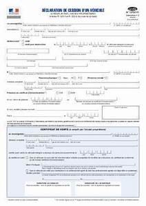 Déclaration De Cession D Un Véhicule à Remplir : recepice de declaration d 39 achat document pdf ~ Medecine-chirurgie-esthetiques.com Avis de Voitures