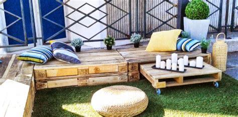 fabriquer un salon de jardin en palette 30 photos et id 233 es d 233 co