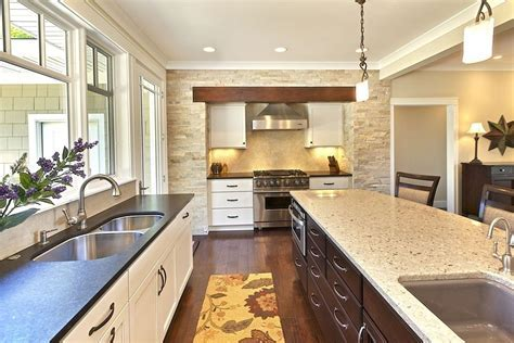 cambria linwood counter tops kitchen modern with wood