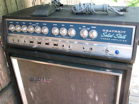 heathkit ta 17 1968 guitar stack reverb