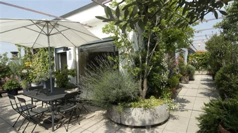 realizzare  giardino pensile sul terrazzo della