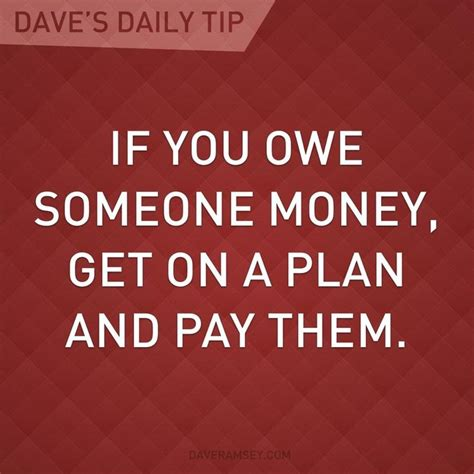 If You Owe Someone Money Quotes