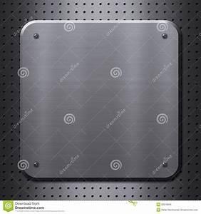 Plaque De Metal : plaque de m tal avec des rivets images stock image 29510654 ~ Teatrodelosmanantiales.com Idées de Décoration