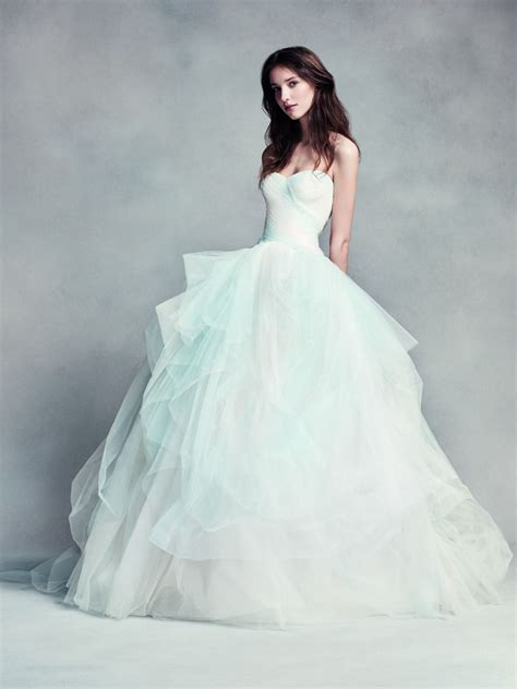 Something Blue Made Easy White By Vera Wang Strapless