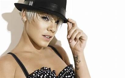 Singer Pink Moore Alecia Beth Wallpapers Hat