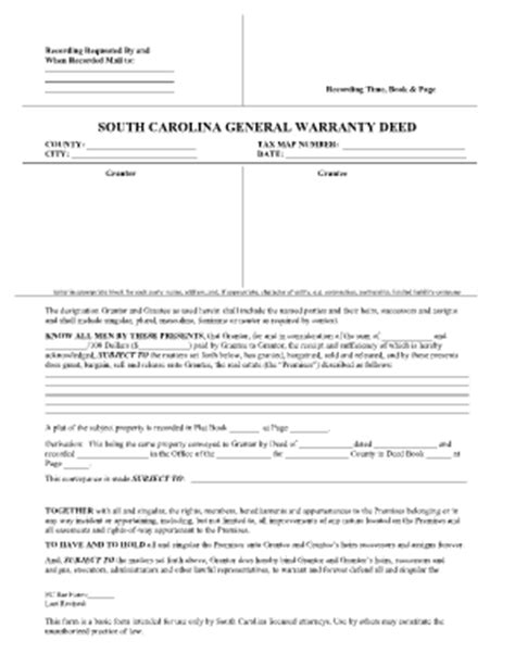 21556 sle warranty deed form sc divorce papers best papers 2018