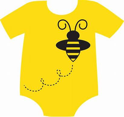 Clipart Onesie Clip Yellow Clothes Transparent Shower