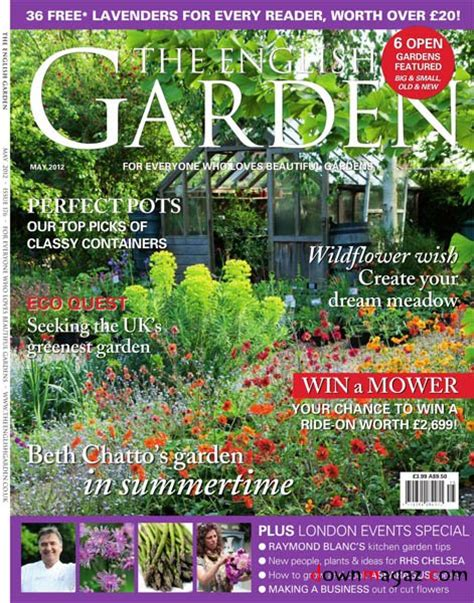 garden magazines the english garden may 2012 187 download pdf magazines magazines commumity