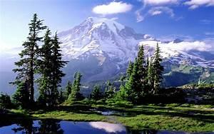 Mountain Landscape Photography Background | Mountain ...