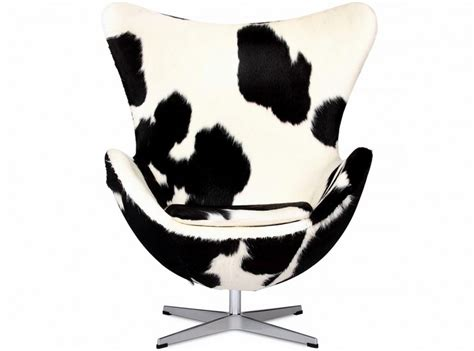 Egg Chair Cowhide by Egg Chair By Arne Jacobsen Pony Cowhide Platinum Replica