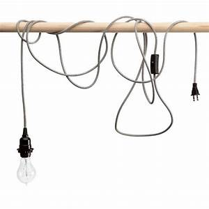 Pendant lighting long cord : Design sleuth mix and match lighting from the color cord