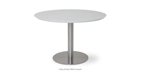 public white 42 high dining table tango dining tables sohoconcept