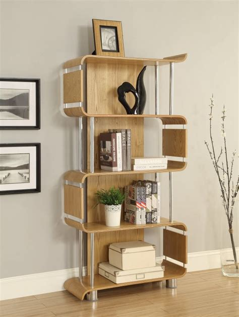 jual bali collection curve oak chrome curved wood