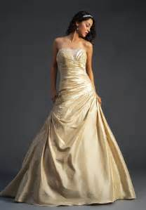 gold dresses for wedding a wedding addict gold wedding gown 39 s