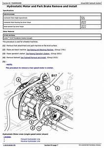 John Deere 326d  328d  329d  332d  333d Skid Steer Loader With Eh Controls Repair Manual