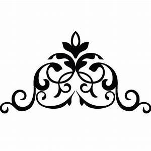stickers muraux design sticker mural design couronne With chambre bébé design avec serre tete couronne de fleurs