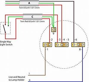 Identifying the switch cable ceiling rose wiring diagrams