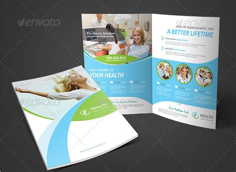 Health Brochure Templates by 8 Modern And Healthy Brochure Templates Free Adobe