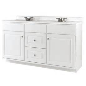 shop allen roth castlebrook white traditional bathroom vanity actual 60 in x 21 in at lowes