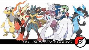 Pokemon All Mega Evolutions Images | Pokemon Images