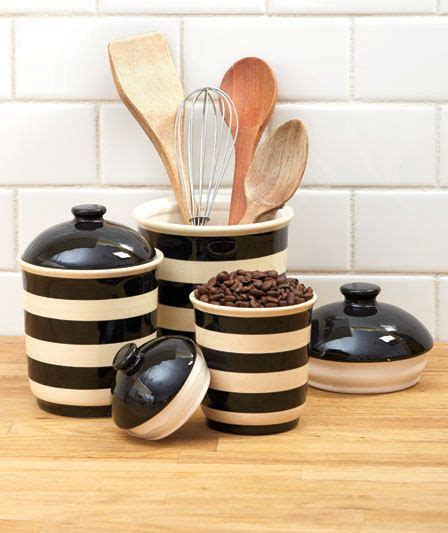 canisters jars containers images  pinterest