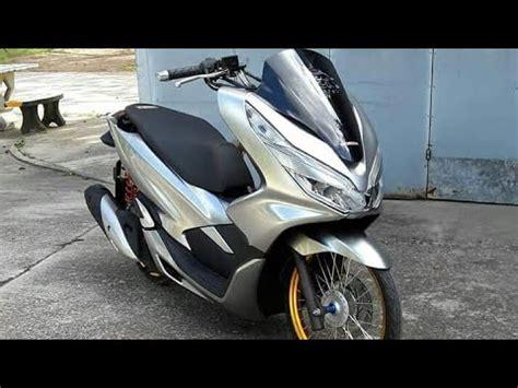 Pcx 2018 Putih Modifikasi by Modifikasi Honda New Pcx 2018 Ring 17