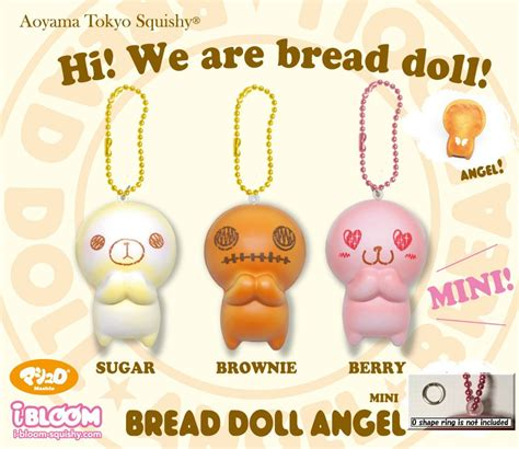bread doll mini squishy japan