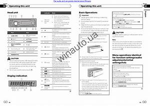 Pioneer Avh X4800bs Wiring Harness