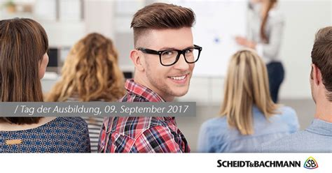 it systemelektroniker ausbildung 2017 tag der ausbildung 2017 scheidt bachmann
