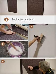 Fenster Tapezieren Anleitung : textiltapeten tapezieren anleitung ~ Lizthompson.info Haus und Dekorationen