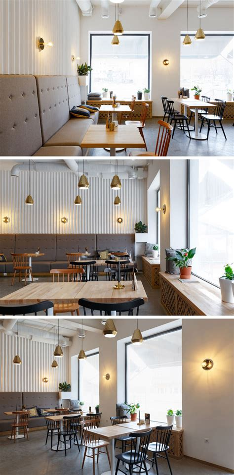 ukrainian coffee shop  touches  gold