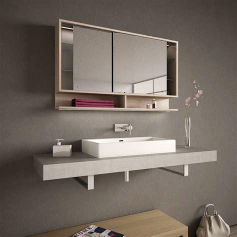 spiegelschrank mit schiebetür spiegelschrank mit schiebet 252 ren und led masima 989705218