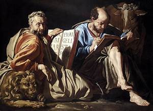 The Evangelists St. Luke and St. Mark, by Matthias Stom ...