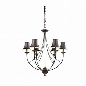 Hampton bay charleston light oil rubbed bronze